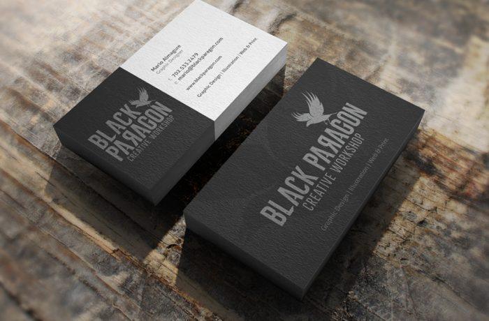 Black Paragon Business Card
