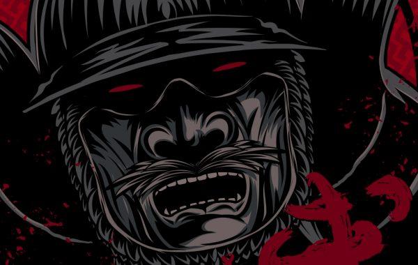 Samurai Warrior Illustration Design